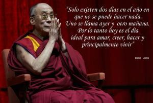 Dalai Lama- Dos clases de dias